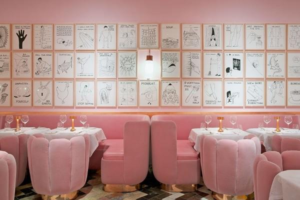 Decoração com millennial pink (rosa quartzo) e como usar