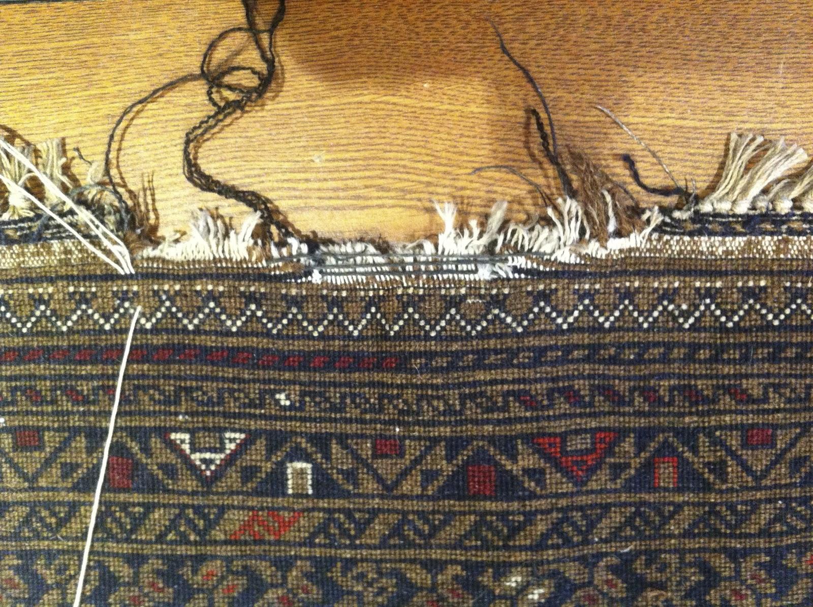 Kosker Traditional Rug Repair Oriental Rug Fringe Repair