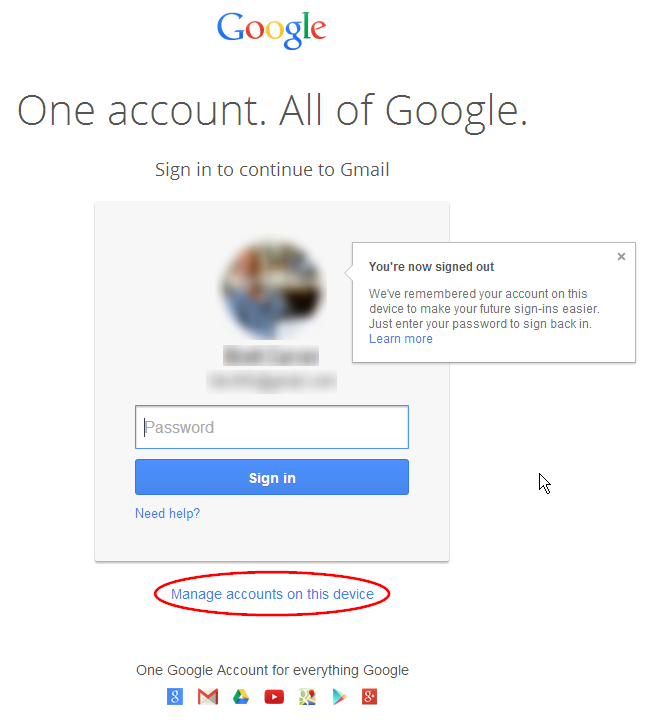 Gmail Help And Information: The New Google Sign In Page