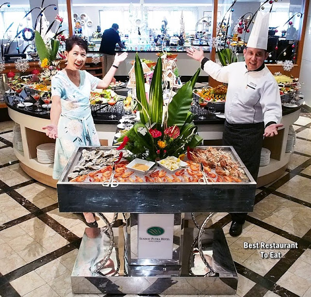 Come, Feast and Celebrate Christmas 2018 And New Year 2019 At Sunway Putra Hotel Kuala Lumpur - Chef Rossham Rosli, Executive Chef of Sunway Putra Hotel
