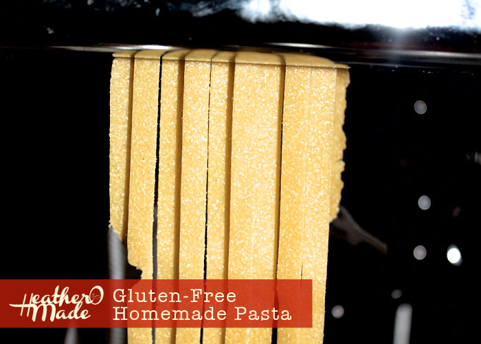 gluten-free homemade pasta recipe