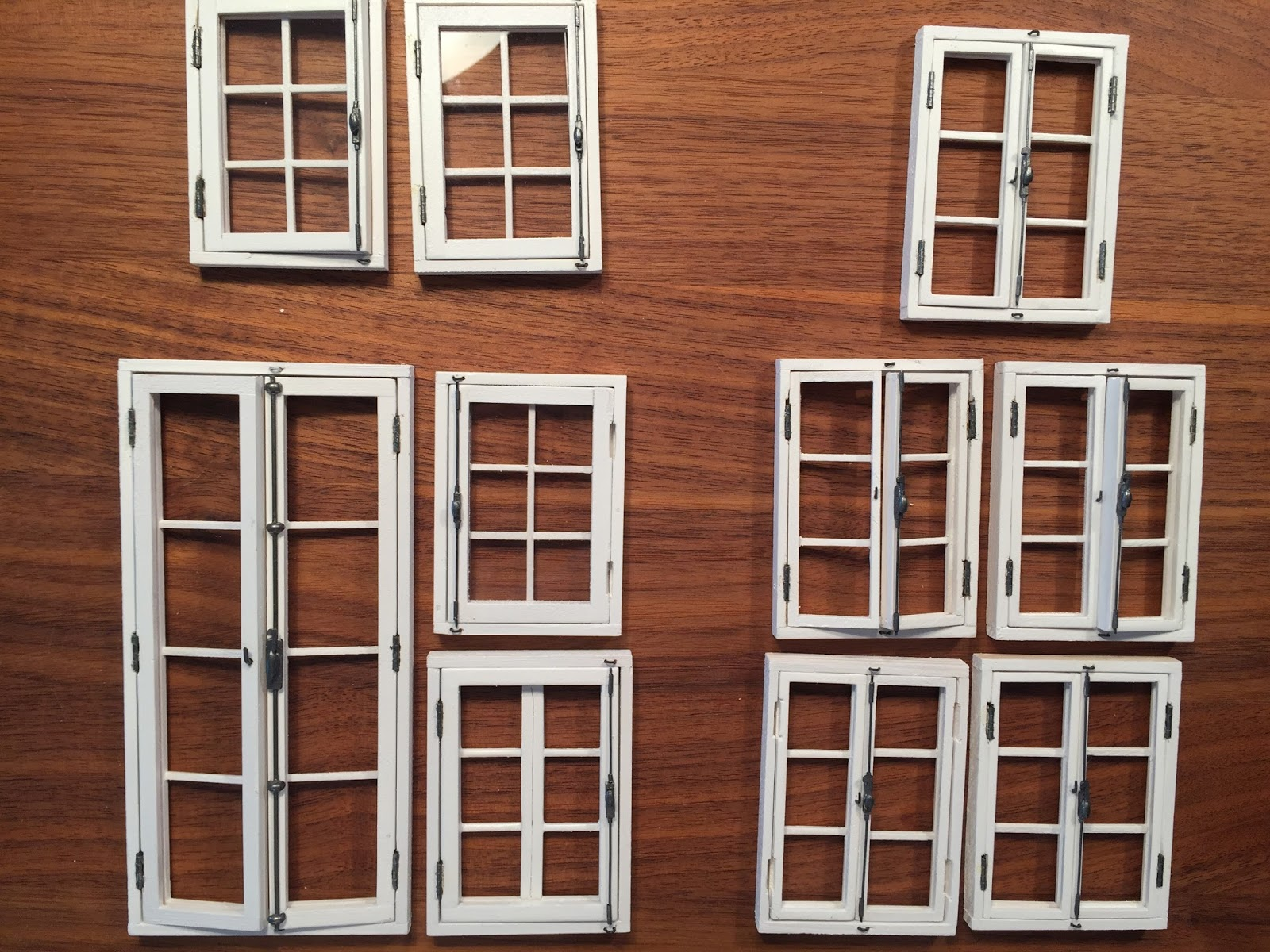1 12 scale modern model houses revealing my new project for Window models for house photos