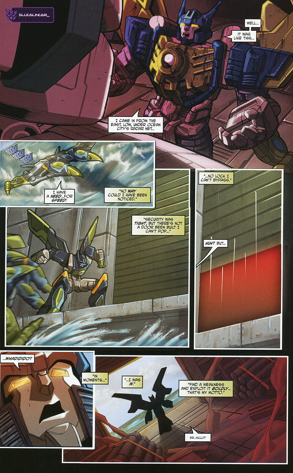 Read online Transformers 20th Anniversary Summer Special comic -  Issue # Full - 16