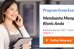 Promo Domain Gratis .Net 2017 by Exabytes