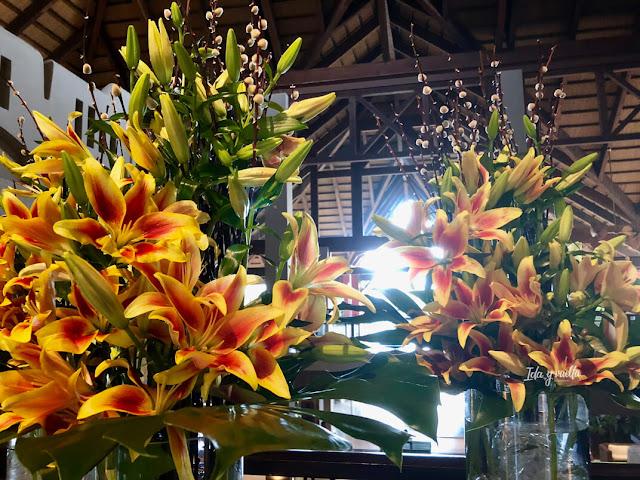 Centros de flores en Asia Gardens Hotel