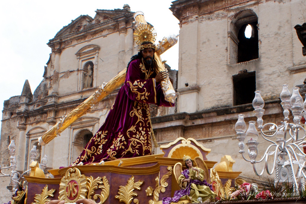 Photo Osa Ss Antigua Guatemala Domingo De Ramos