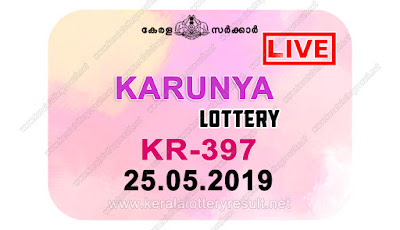 KeralaLotteryResult.net, kerala lottery kl result, yesterday lottery results, lotteries results, keralalotteries, kerala lottery, keralalotteryresult, kerala lottery result, kerala lottery result live, kerala lottery today, kerala lottery result today, kerala lottery results today, today kerala lottery result, karunya lottery results, kerala lottery result today karunya, karunya lottery result, kerala lottery result karunya today, kerala lottery karunya today result, karunya kerala lottery result, live karunya lottery KR-397, kerala lottery result 25.05.2019 karunya KR 397 25 may 2019 result, 25 05 2019, kerala lottery result 25-05-2019, karunya lottery KR 397 results 25-05-2019, 25/05/2019 kerala lottery today result karunya, 25/5/2019 karunya lottery KR-397, karunya 25.05.2019, 25.05.2019 lottery results, kerala lottery result May 25 2019, kerala lottery results 25th May 2019, 25.05.2019 week KR-397 lottery result, 25.5.2019 karunya KR-397 Lottery Result, 25-05-2019 kerala lottery results, 25-05-2019 kerala state lottery result, 25-05-2019 KR-397, Kerala karunya Lottery Result 25/5/2019