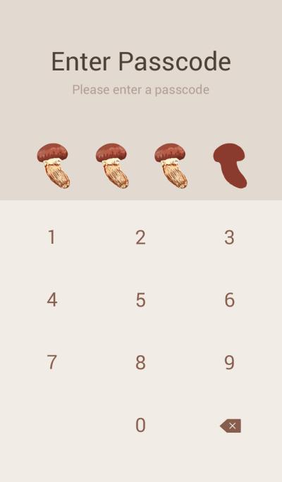 Matsutake mushrooms Simple