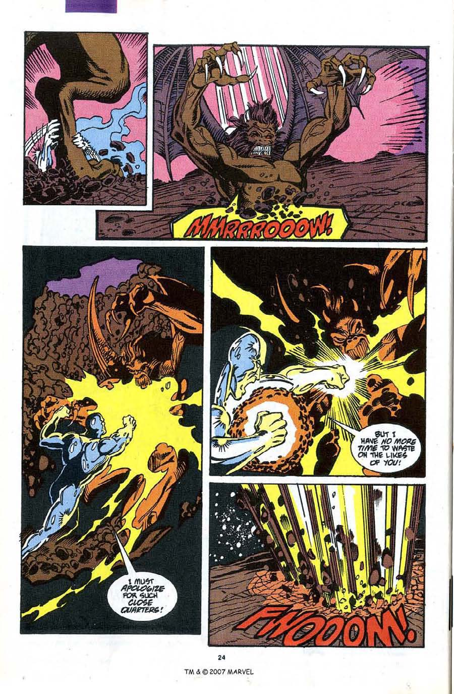 Read online Silver Surfer (1987) comic -  Issue #49 - 26