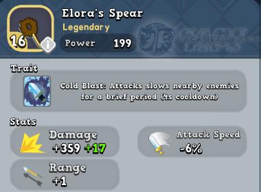 World of Legends - Elora's Spear