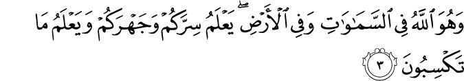 Surat Al-An'am Ayat 3