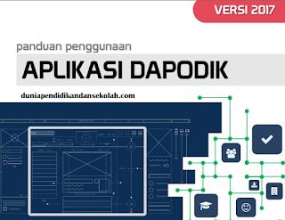 Panduan Penggunaan Aplikasi DAPODIK Versi Terbaru Tahun 2017 Beserta Link Download dan Prefill