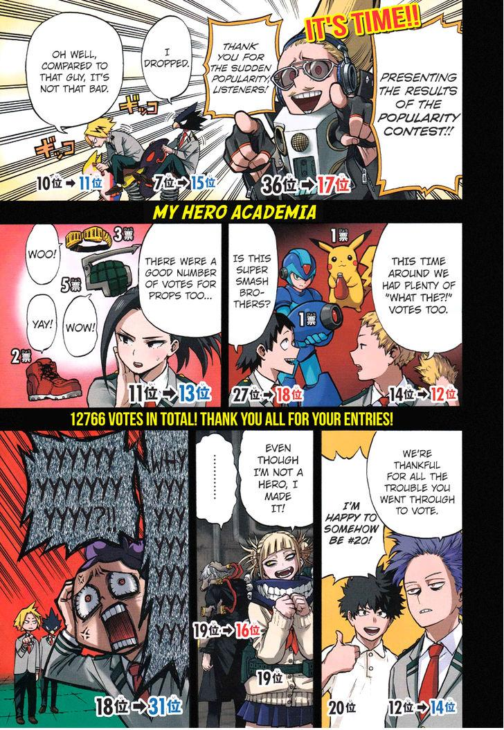 Boku no Hero Academia - Chapter 135