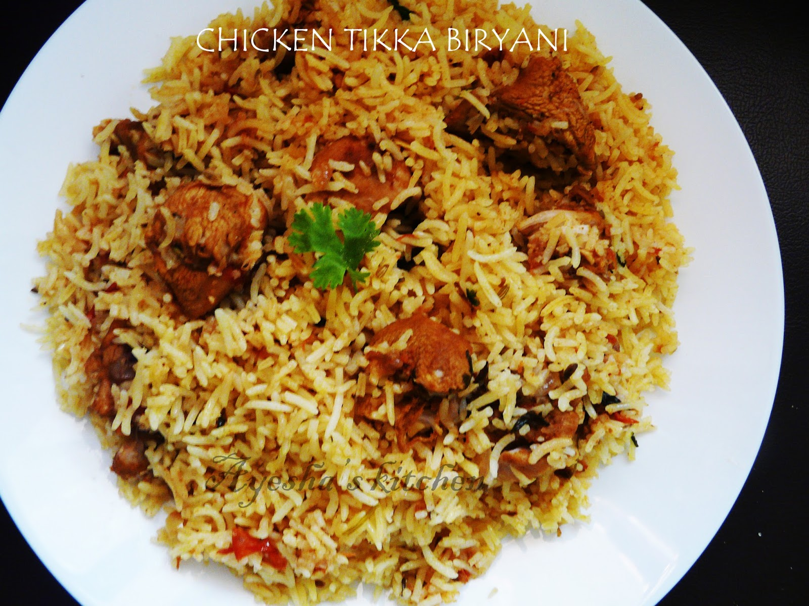 Biryani Recipes How To Make Chicken Tikka Biryani Without Grill