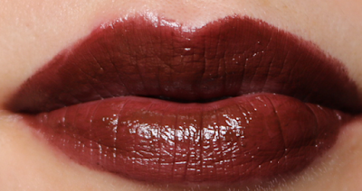 Dolce & Gabbana Shine Lipstick in Chocolate 79 review swatches