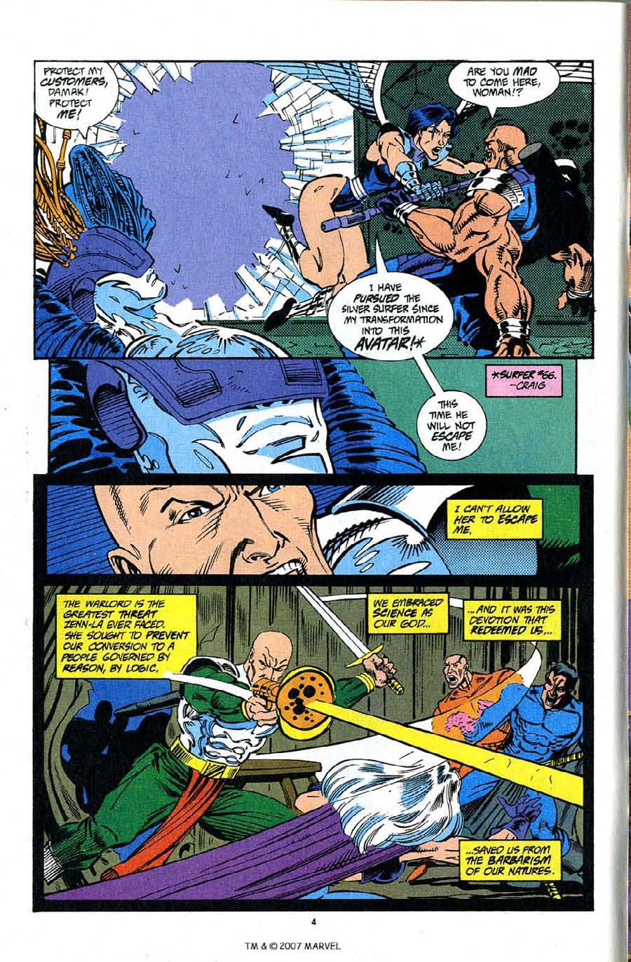 Read online Silver Surfer (1987) comic -  Issue #92 - 6