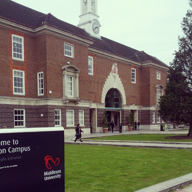 A picture of Middlesex University, Hendon