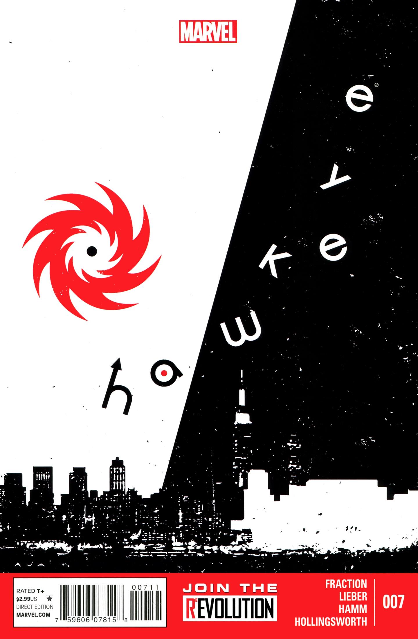 Hawkeye (2012) 7 Page 1