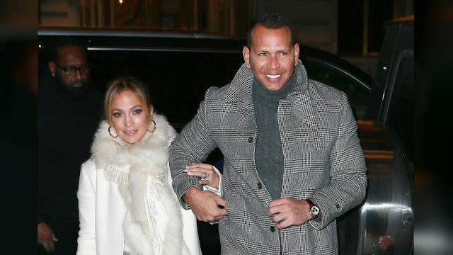 FARÁNDULA:  Alex Rodríguez y Jennifer López felices luego de sellar su compromiso.