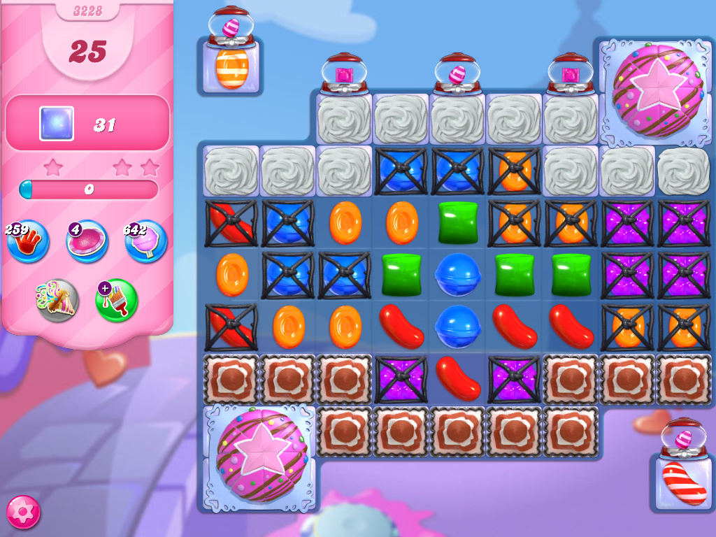 Candy Crush Saga level 3228