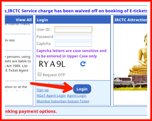 kaise kare Online railway ticket booking puri jankari in hindi