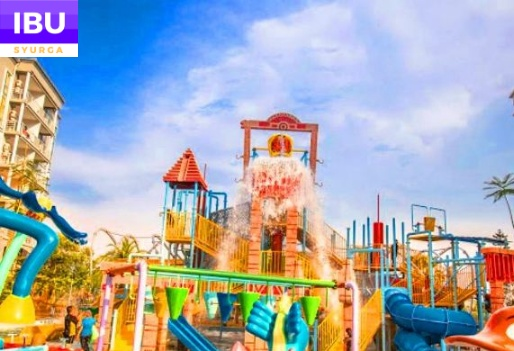 Gold Coast Melaka Resort permainan water theme park