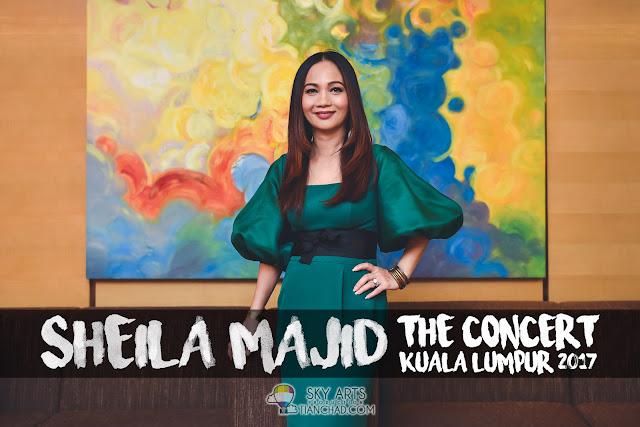 Sheila Majid Live in KL - The Concert Kuala Lumpur 2017