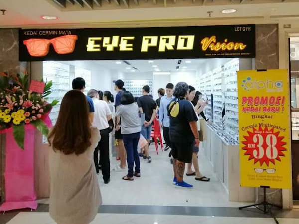 Lens Alpha Blue 420 dari Eye Pro Vision, Sungei Wang Plaza
