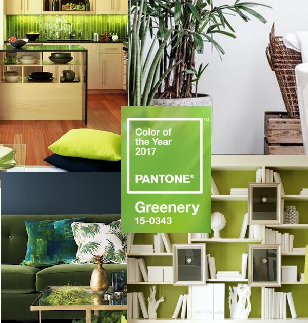 5 Formas de Decorar Usando Pantone Greenery