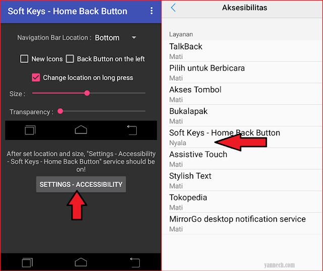 Cara Menampilkan Tombol Navigasi Home di Layar Android Softkeys no roort