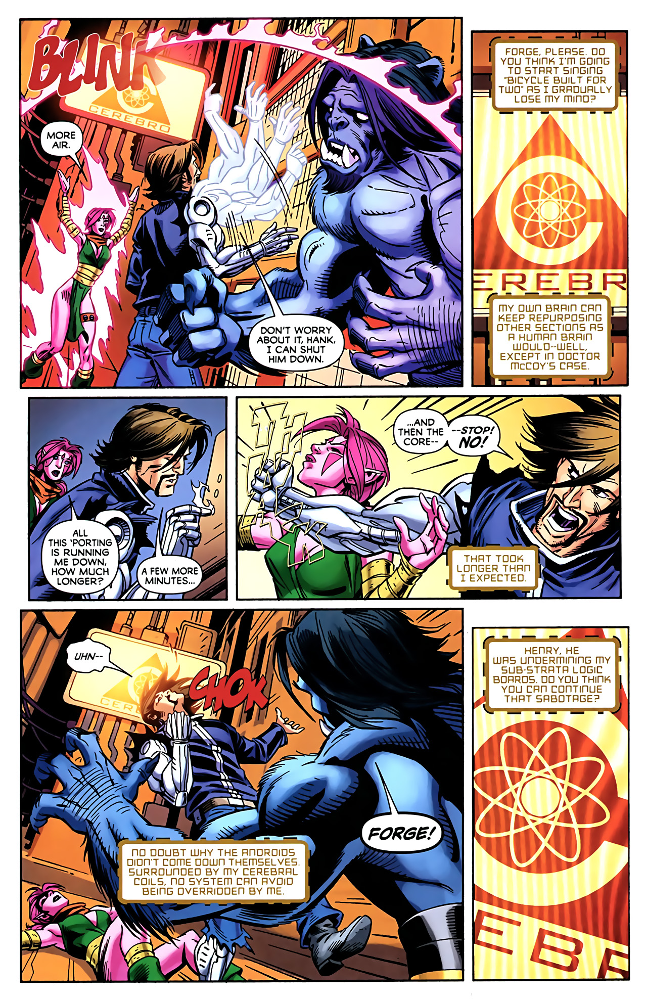 Read online Exiles (2009) comic -  Issue #5 - 18