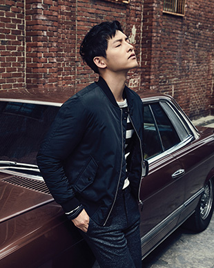 Lingy's Soul Searching: Song Joong Ki in FW2016 Look for TopTen 10.