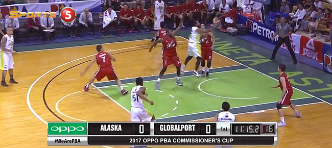 Alaska def. GlobalPort, 107-79 (REPLAY VIDEO) March 18