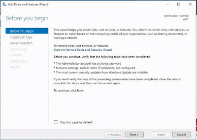 System Center 16 Labs - Install and Configure Active Directory on Windows Server 2016