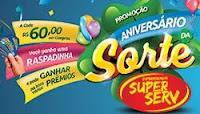 Promoção Aniversário da Sorte Rex SuperServ