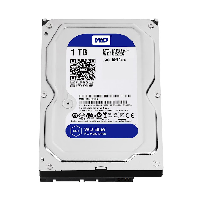 Western Digital WD Blue 1TB SATA 6 Gb/s Hard disk under 50$