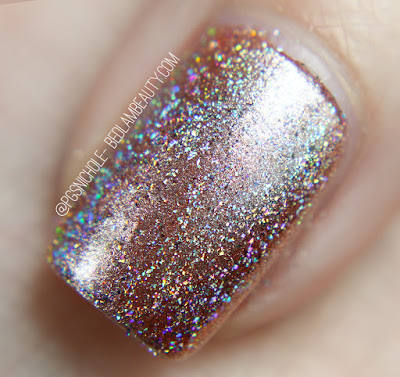 Grace-Full Nail Polish + Holo Flakes | Almost Perfect