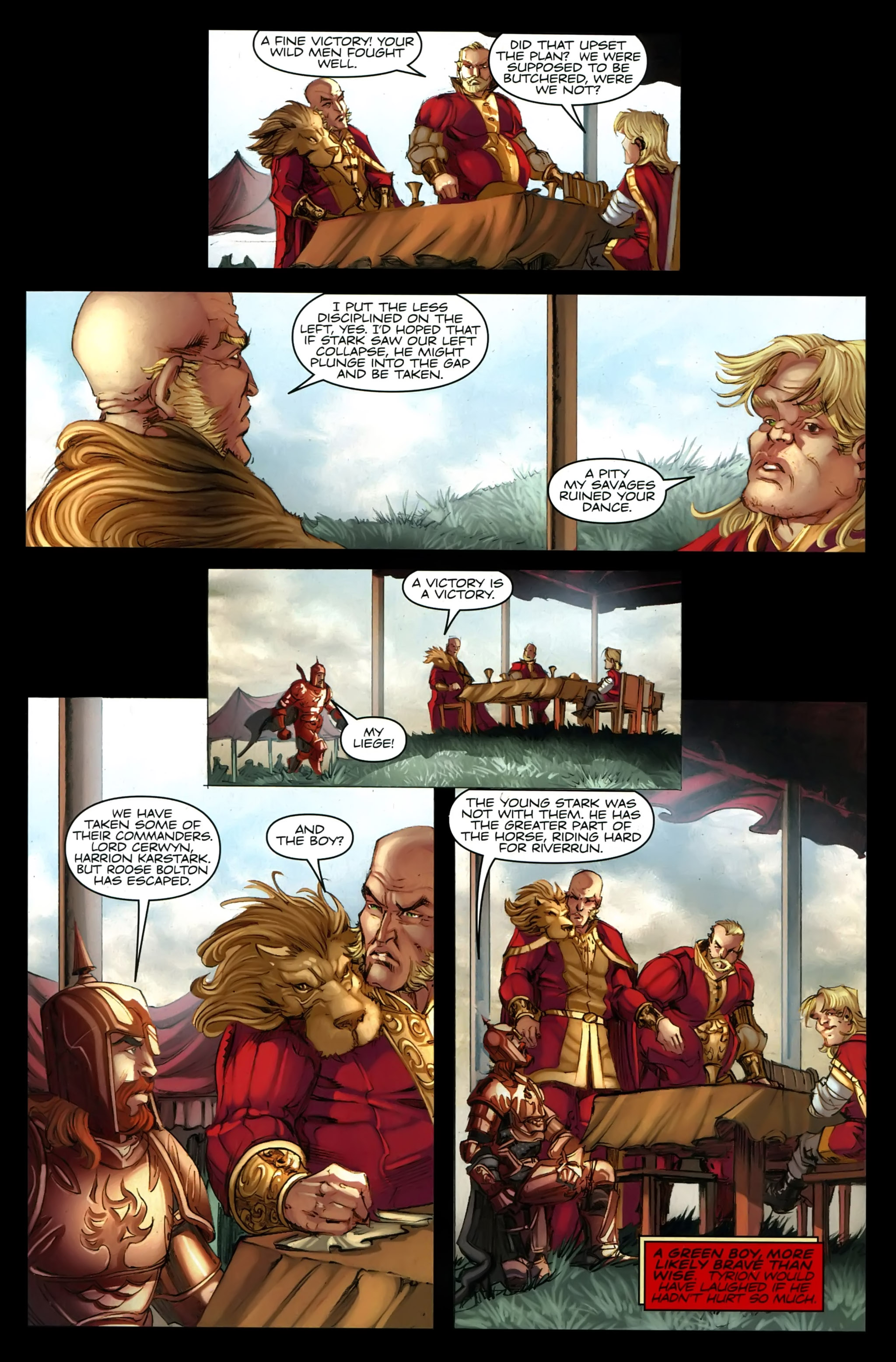 Read online A Game Of Thrones comic -  Issue #21 - 15