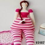 patron gratis muñeca tilda  amigurumi, free pattern amigurumi tilda doll