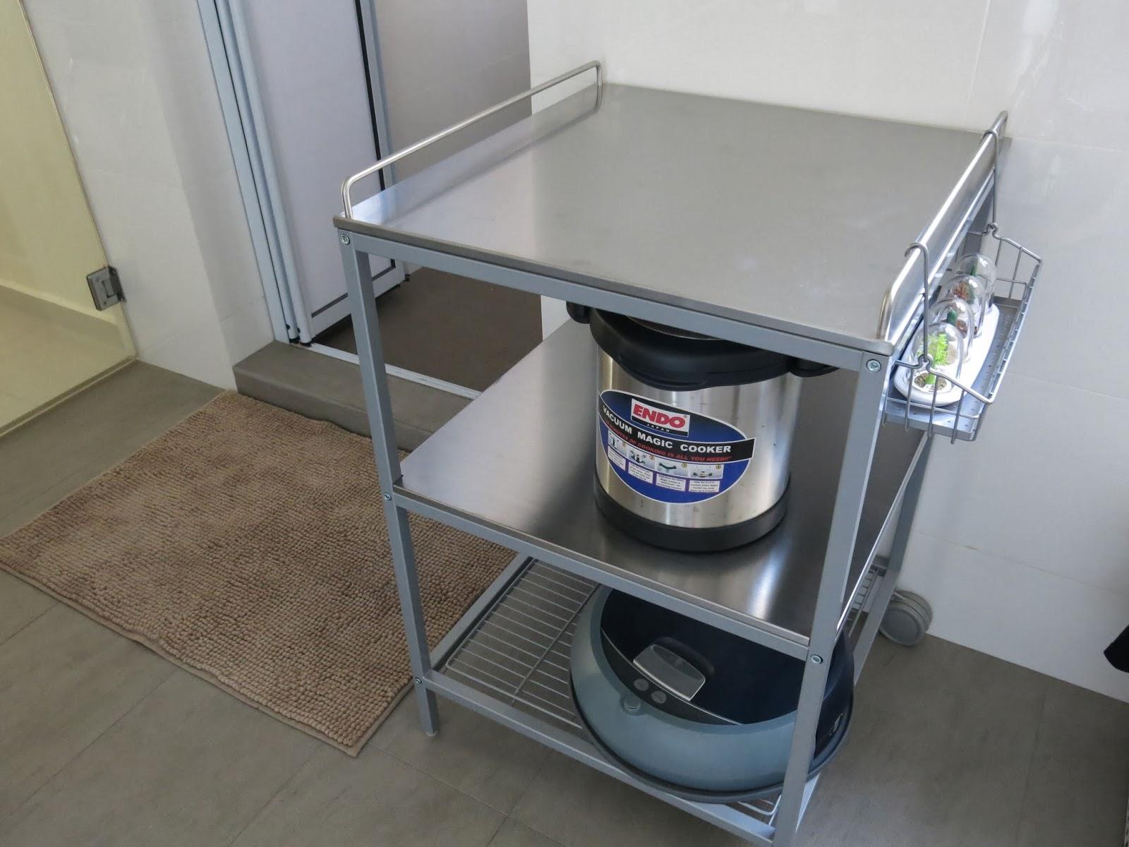 udden kitchen trolley. Black Bedroom Furniture Sets. Home Design Ideas