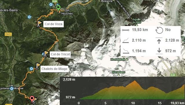 Etapa 1 Tour del Mont Blanc