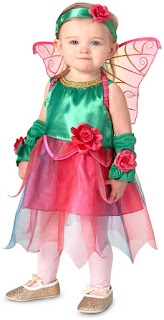Girls Fairy Princess Infant Costume for Halloween