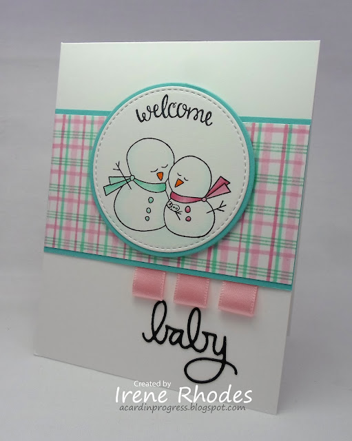 Welcome Baby by Irene features Frozen Friends and Loveable Laundry by Newton's Nook Designs; #newtonsnook