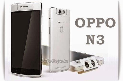 OppoN3: 5.5 inch,2.3 GHz Krait Quad-core Android Phone Specs, Price