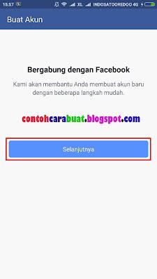 Daftar Facebook Indonesia | Cara Buat Facebook Lewat Hp Android