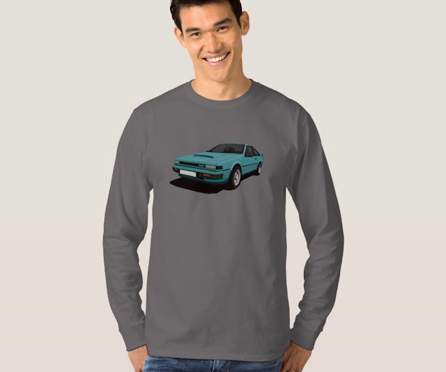 Nissan Silvia Gazelle or 200SX (S12) car shirt