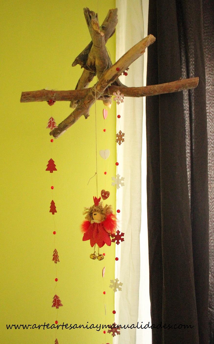 Arte Artesania y Manualidades Decoracin de Navidad