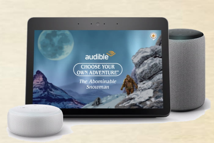 Amazon Audible Interactive Games