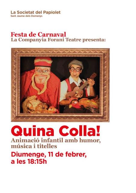 Esguard de Dona - Festa Infantil Carnaval 2018 al Papiolet