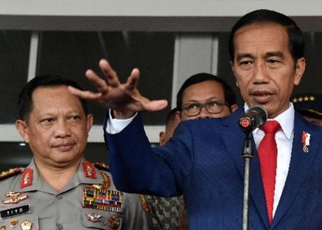 Minta Polri Petakan Sumber Provokasi, Jokowi: Intelijen Kita Harus Punya Data Komplet Mengenai Ini